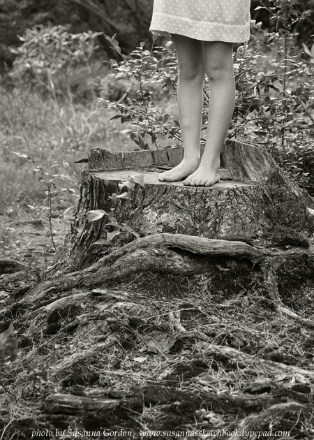 Susanna Gordon, Annabel's legs on stump low res