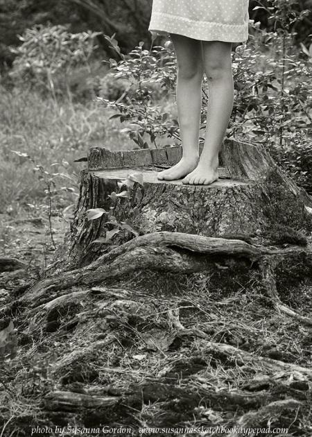 Susanna Gordon, Annabel's legs on stump low res